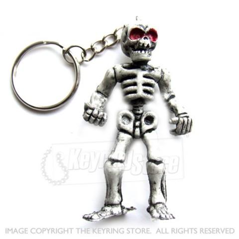 Skeleton Keyring
