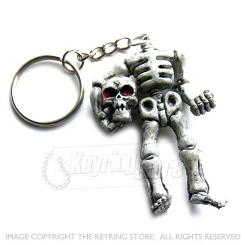 Headless Skeleton Keyring