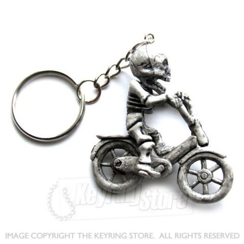 Skeleton Bike Keyring