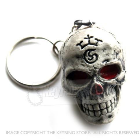 Skull Keyring