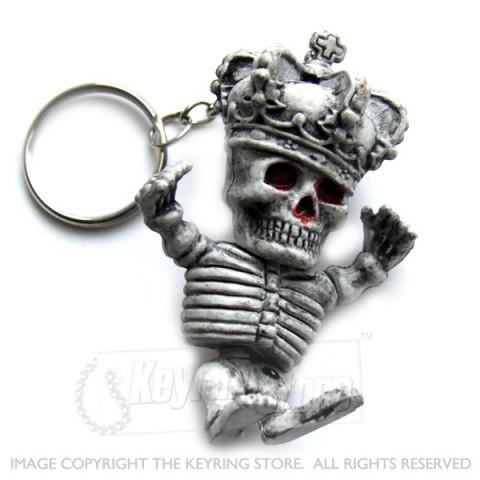 Skeleton King Keyring