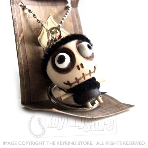 Voodoo Doll Monk Keyring