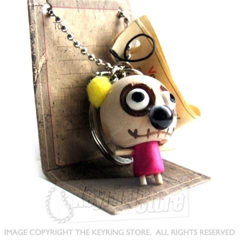 Voodoo Doll Teddy Keyring