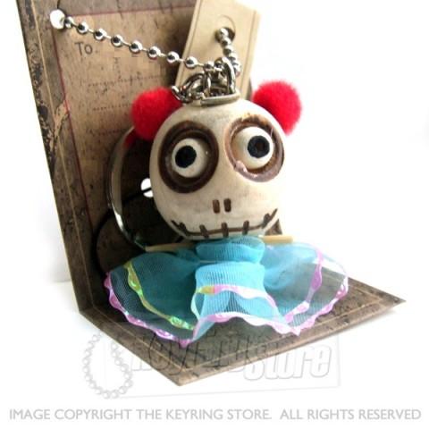 Voodoo Doll Pretty Dress Keyring