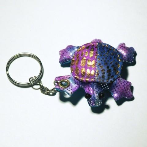 Turtle Sand-filled keyring