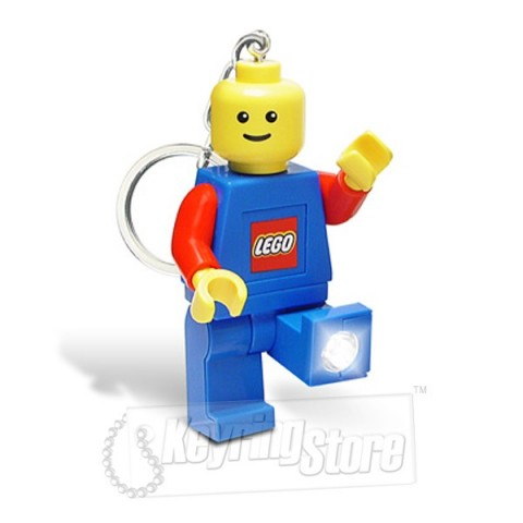 Lego LED torch keyring