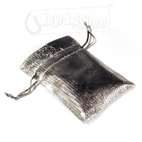 Luxury Silver Gift Pouch / Bag