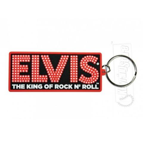 Elvis Keyring - King of Rock n' Roll