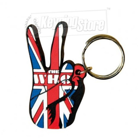 The Who Keyring - Peace