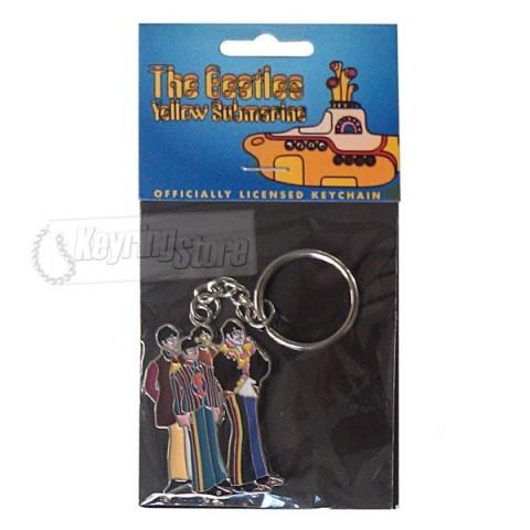 The Beatles Keyring - Yellow Submarine