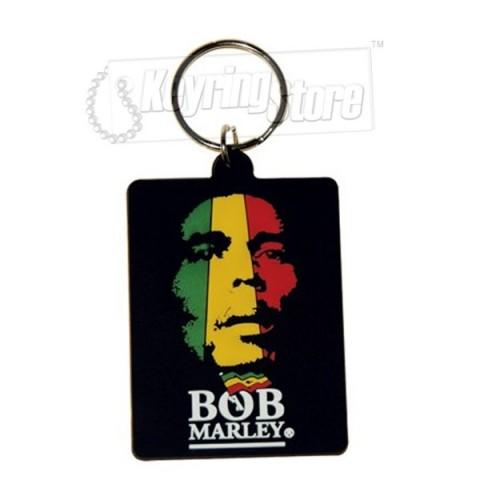 Bob Marley Flag Keyring