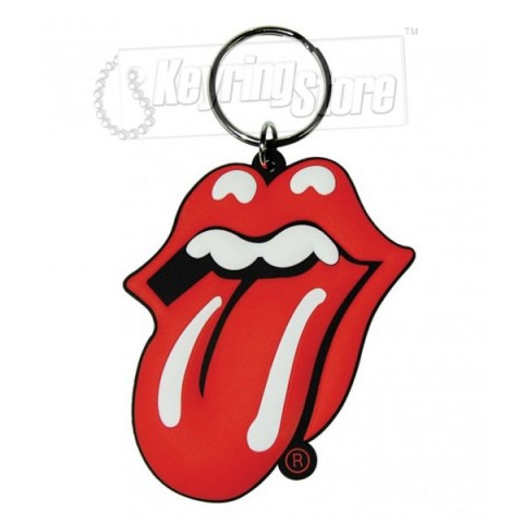 Rolling Stones Tongue & Lips Keyring