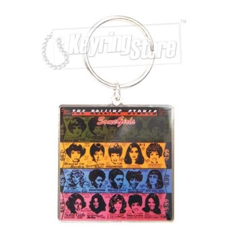 Rolling Stones Some Girls Keyring