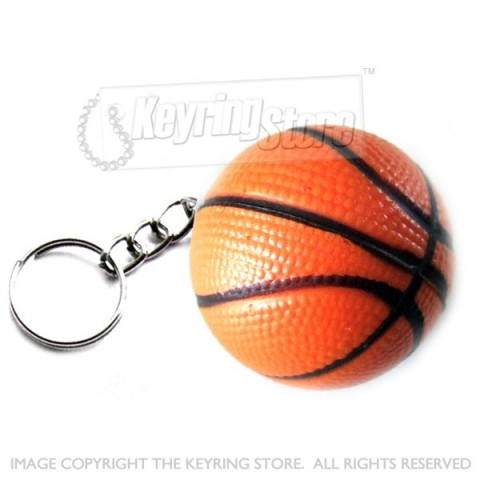 Basketball Keyring