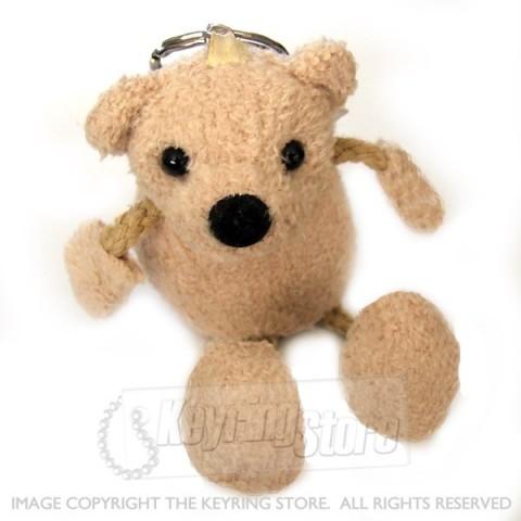 Plush Teddy Keyring (Premium)