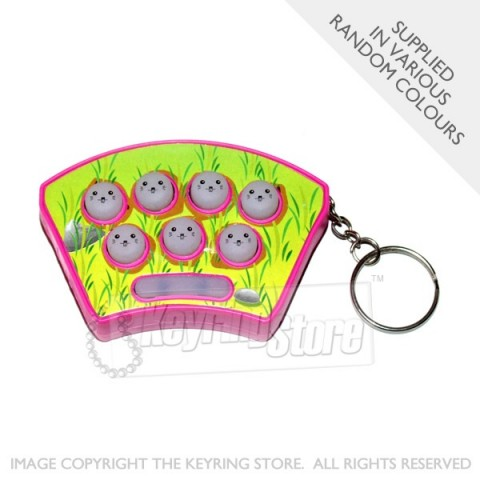 Mole Game Keyring