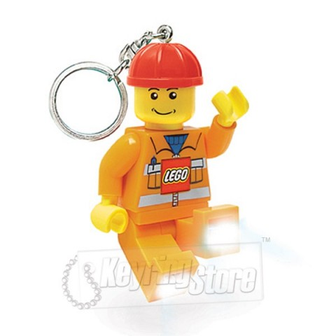 Construction Worker Keyring