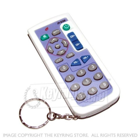 Universal TV Remote Keyring (extended functions)