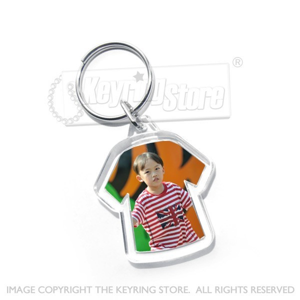T Shirt Photo Keyring