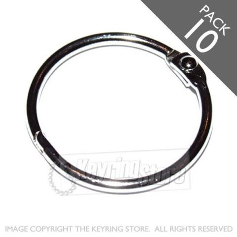 75mm Opening Hinged Binder Rings PACK 10