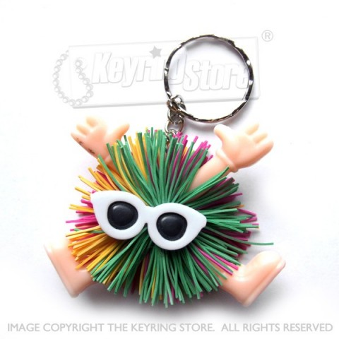 Fuzz People Keyring (shades)