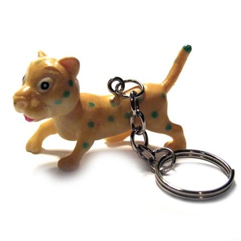 Leopard Keyring