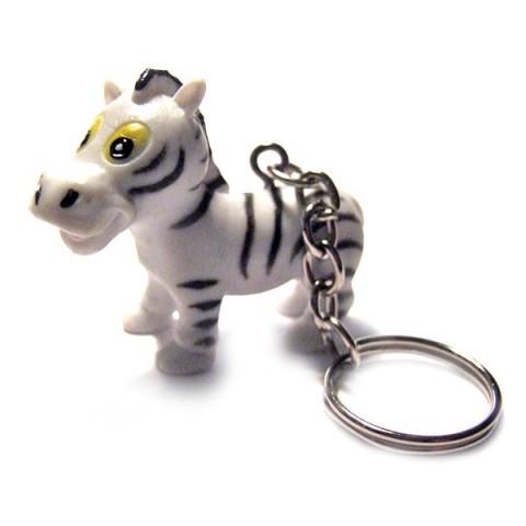 Zebra Keyring