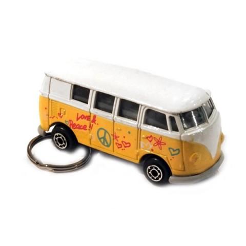 Camper Van Keyring - Yellow