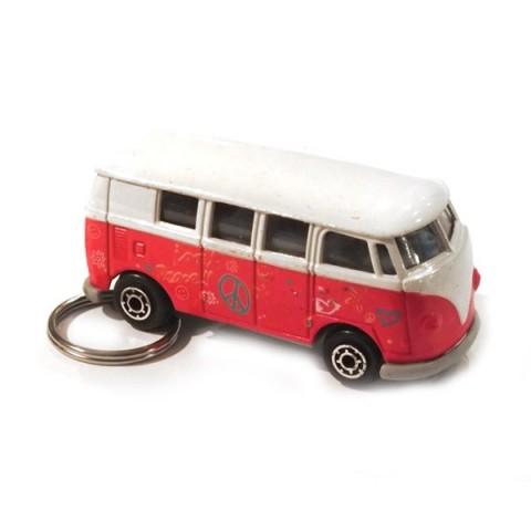Camper Van Keyring - Red