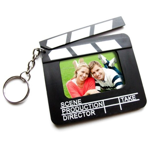Personalised Clapper Board Keyring
