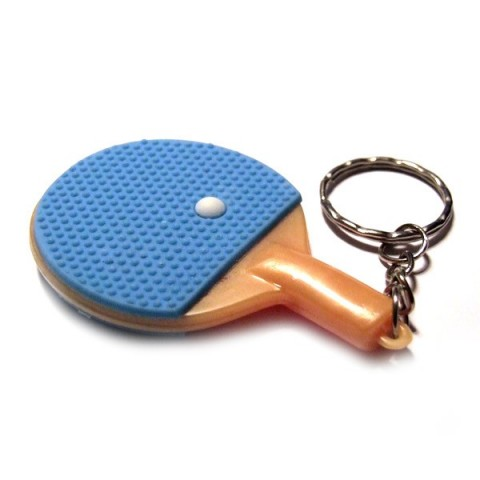 Table Tennis Racket Keyrings