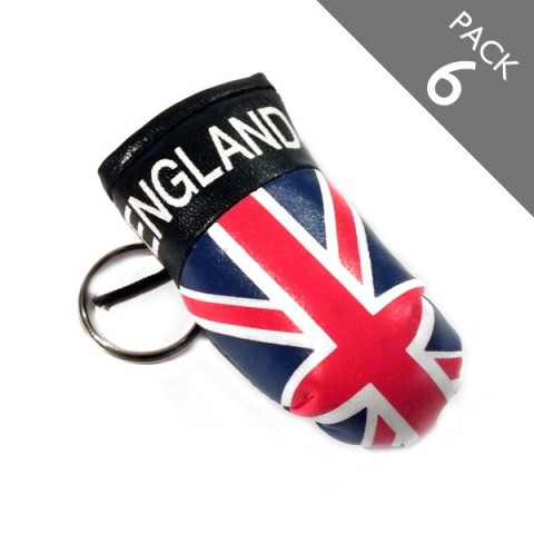 GB Boxing Glove Keyring - PACK 6