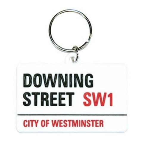 Downing Street Keyring