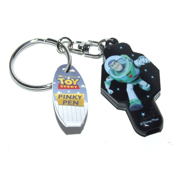 Buzz Lightyear Toy Story Pen Keyring