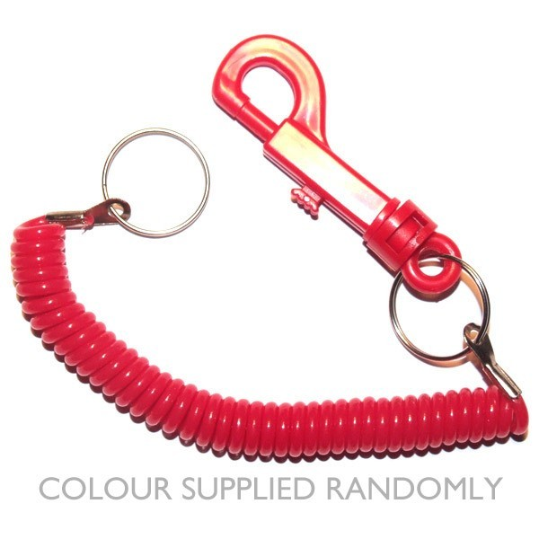 Premium phone cord keyring (various colours)