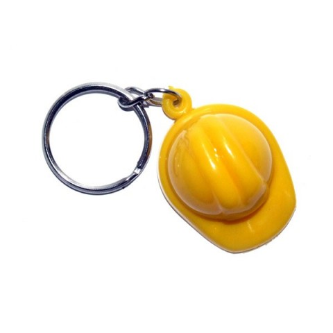 Hard Hat Keyring
