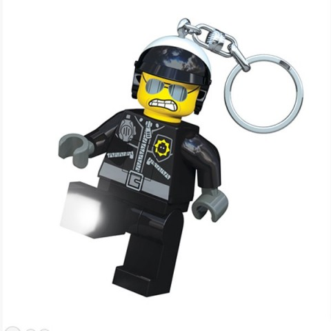 Lego Movie Bad Cop Keyring