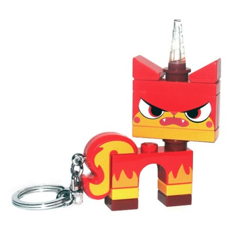 Lego Movie Angry Unikitty Keyring