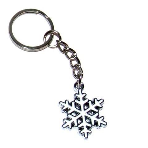 Snowflake Keyring
