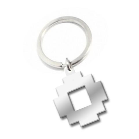 Small Metal Shape Custom Keyring