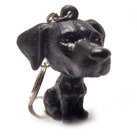 Dog Keyring - Black