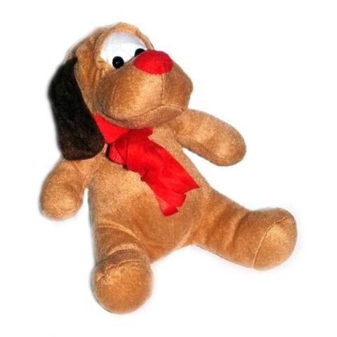 Plush Christmas Dog
