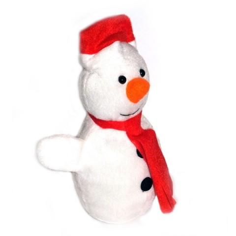 Plush Christmas Snowman