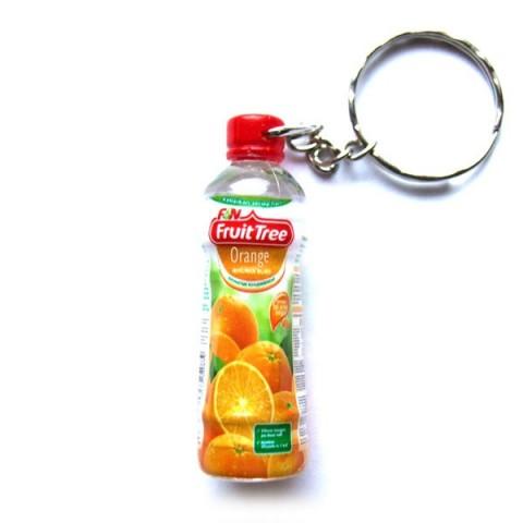 Orange Juice Keyring
