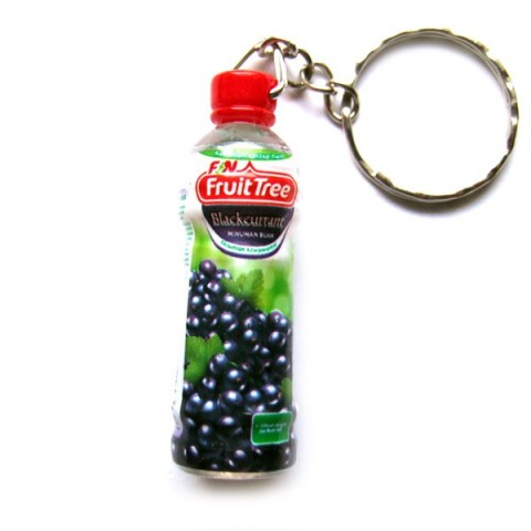Blackcurrant Juice Keyring