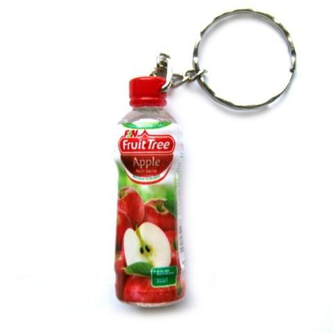 Apple Juice Keyring