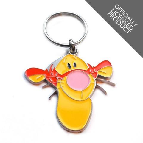 Disney Tigger Winnie The Pooh METAL Keyring