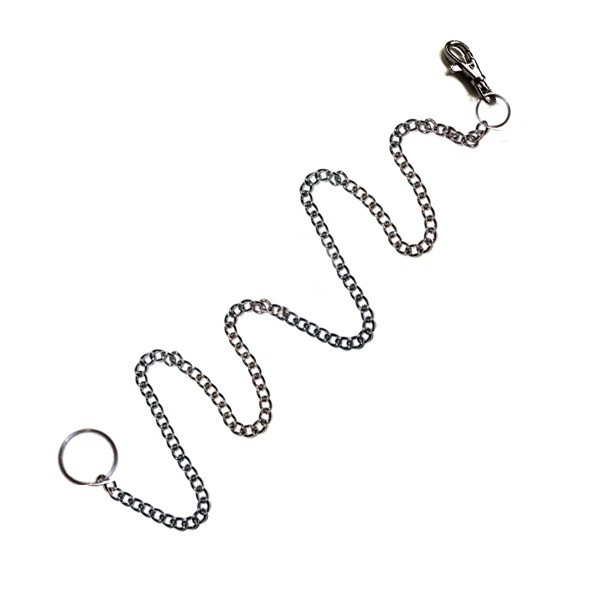 Mini Belt Clip Keyring with extra long chain