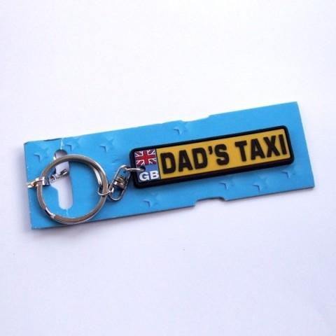 Dad's Taxi Keyring