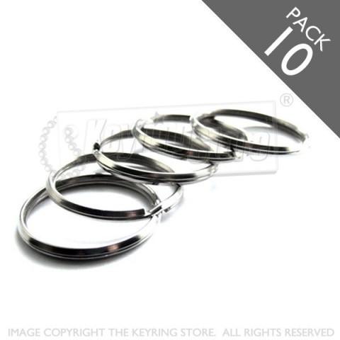 28mm Bevelled Split Rings PACK 10
